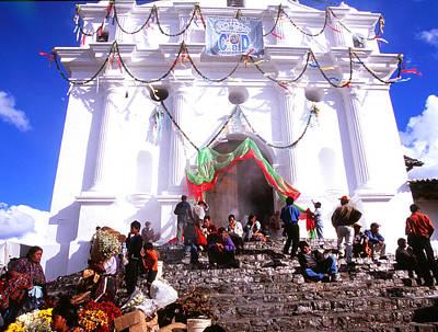 Photograph - Iglesia Santo Tomas by Robert  Rodvik