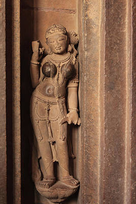 India, Madhya Pradesh, Chhatarpur Art Print