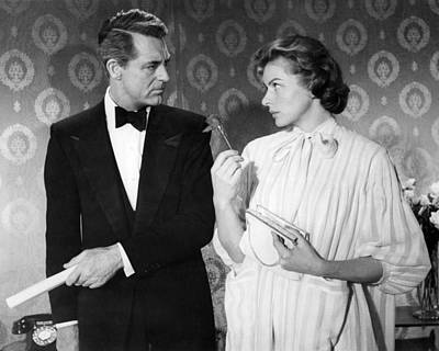Cary Grant Wall Art - Photograph - Indiscreet  by Silver Screen
