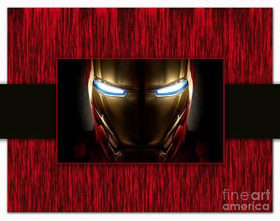 Iron Man Print by Marvin Blaine