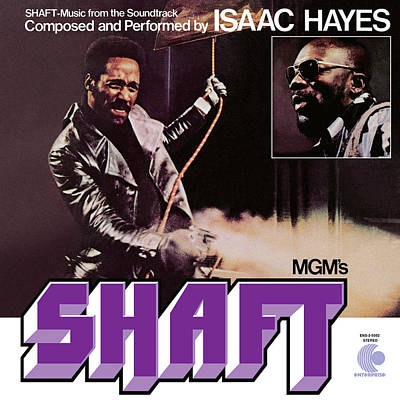 Shafts Digital Art - Isaac Hayes -  Shaft by Concord Music Group