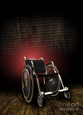 Isolation Through Disability, Artwork Art Print by Victor Habbick Visions