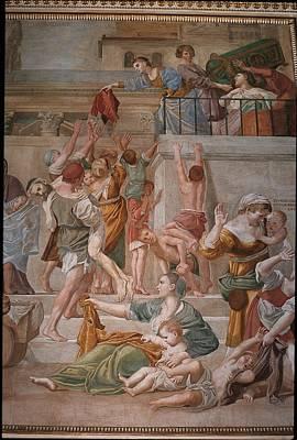 Italy, Lazio, Rome, San Luigi Dei Art Print