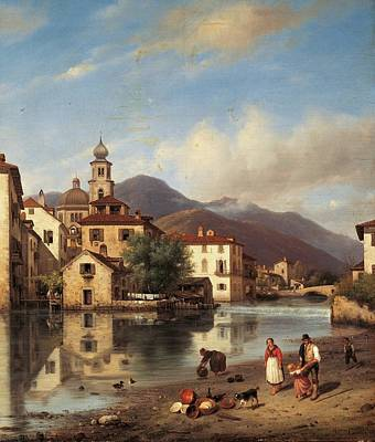 Italy, Lombardy, Milan, Brera Academy Art Print by Everett