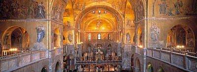 Interior Scene Photograph - Italy, Venice, San Marcos Cathedral by Panoramic Images