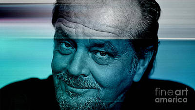 Jack Nicholson Mixed Media - Jack Nicholson by Marvin Blaine