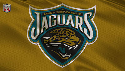Jacksonville Jaguars Uniform Art Print by Joe Hamilton