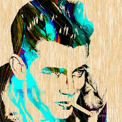 James Dean Collection Art Print