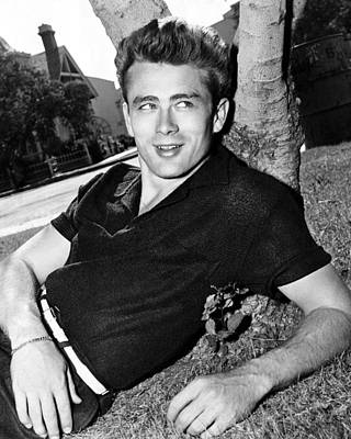 Of Indiana Photograph - James Dean by Retro Images Archive