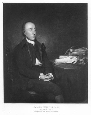 Raeburn Painting - James Hutton (1726-1797) by Granger