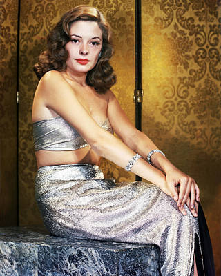 Photograph - Jane Greer by Silver Screen