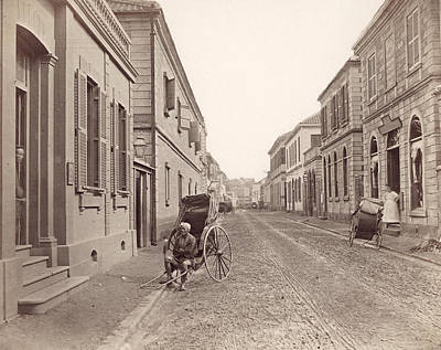 1880s Photograph - Japan Yokohama, 1880s by Granger