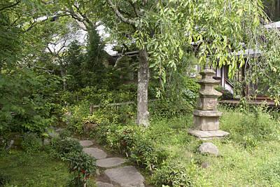Photograph - Japanese Garden by Masami Iida