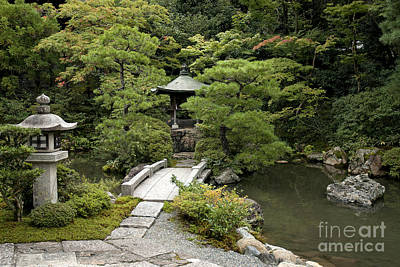 Granger - Japanese Traditional Garden In Kyoto Japan by JM Travel Photography