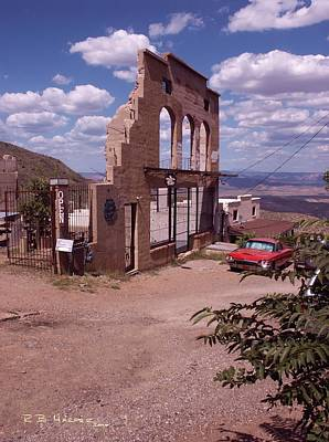 Photograph - Jerome Skyline by R B Harper