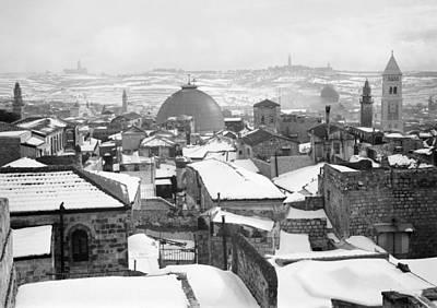 Photograph - Jerusalem Winter by Granger