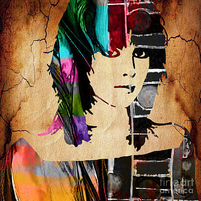 Pop Mixed Media - Joan Jett Collection by Marvin Blaine