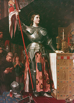 Breastplate Painting - Joan Of Arc (c1412-1431) by Granger