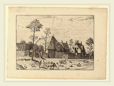 Shed Drawing - Johannes And Lucas Van Doetechum After Master Of The Small by Litz Collection