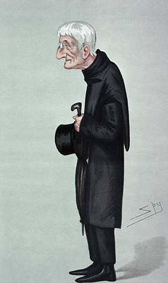 Caricature Painting - John Henry Newman by Granger