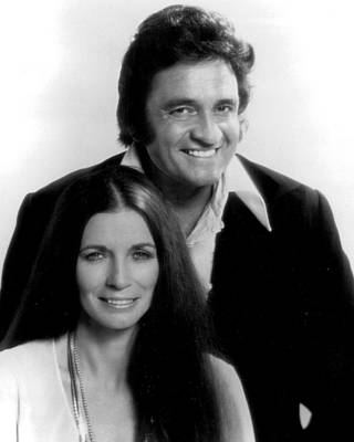 The Man In Black Photograph - Johnny Cash by Retro Images Archive