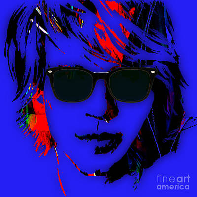 Jon Bon Jovi Mixed Media - Jon Bon Jovi Collection by Marvin Blaine