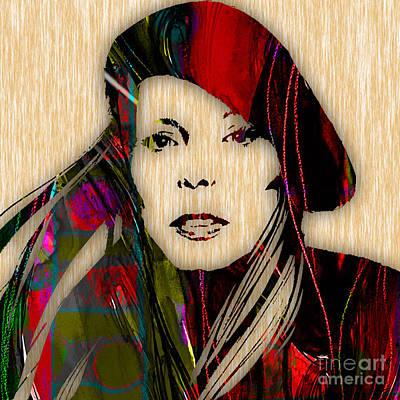 Joni Mitchell Mixed Media - Joni Mitchell Collection by Marvin Blaine
