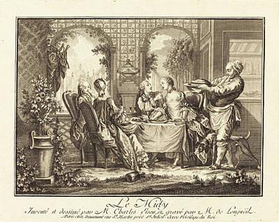 Joseph De Longueil After Charles Eisen French Art Print by Quint Lox