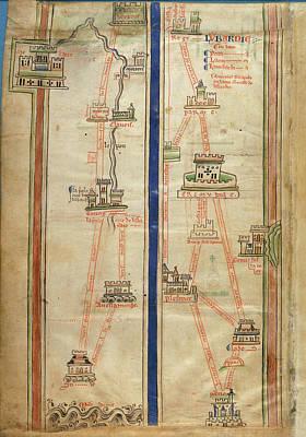 Bible Photograph - Journey To Jerusalem by British Library