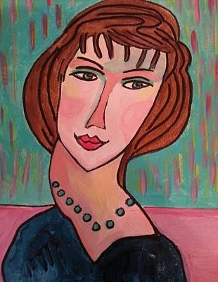 Painting - Julie by Nikki Dalton
