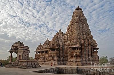 Kandariya Mahadeva Temple Khajuraho India Art Print by Rudra Narayan  Mitra