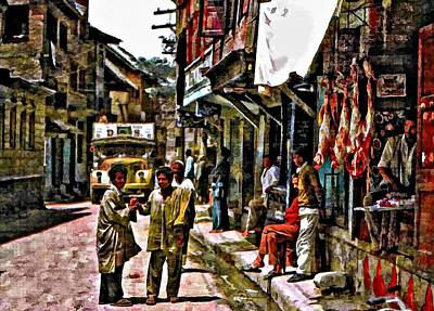 Steve Harrington Digital Art - Kathmandu  by Steve Harrington