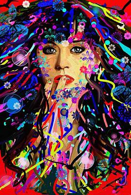 Katy Perry Art Print