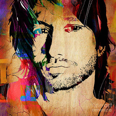 Nashville Mixed Media - Keith Urban Collection by Marvin Blaine