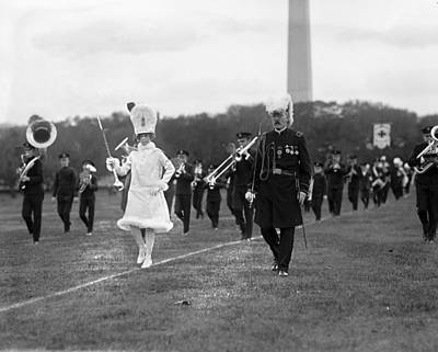 Marching Band Photograph - Knights Templar Field Day by Granger