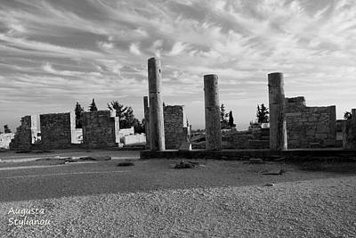 Photograph - Kourion-temple Of Apollo by Augusta Stylianou