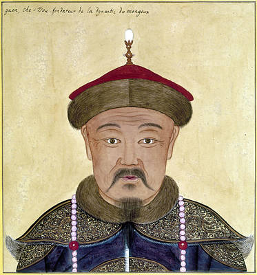 Painting - Kublai Khan (1216-1294) by Granger