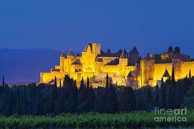 La Cite Carcassonne Art Print by Brian Jannsen