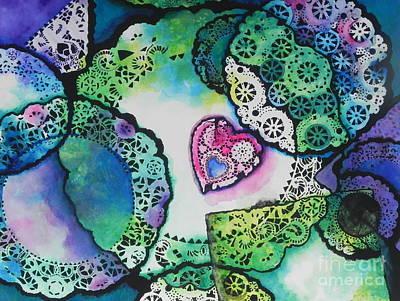 Laced Memories Art Print by Chrisann Ellis
