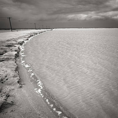 Photograph - Las Coloradas Salt Flat by For Ninety One Days