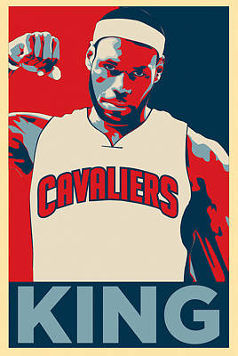 Athletes Royalty-Free and Rights-Managed Images - Lebron James by Zapista Zapista