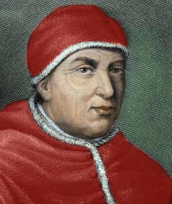 Clergy Photograph - Leo X (1475-1521 by Prisma Archivo