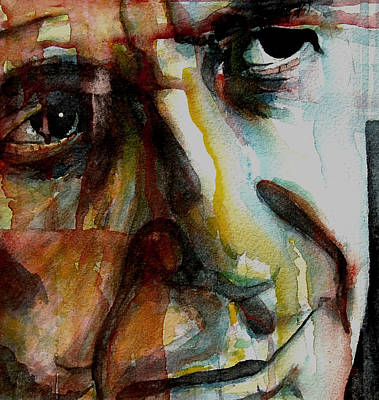 Songwriter Painting - Leonard  by Paul Lovering