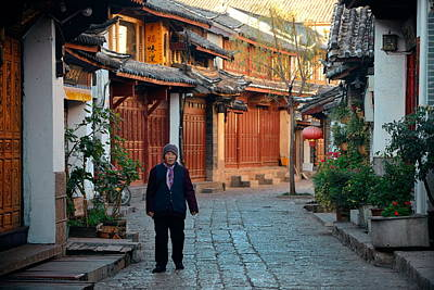 Photograph - Lijiang Old Town by Songquan Deng
