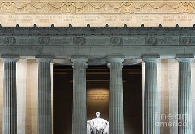 Politicians Royalty-Free and Rights-Managed Images - Lincoln Memorial by John Greim