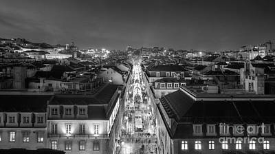 Photograph - Lisbon Downtown by Carlos Caetano