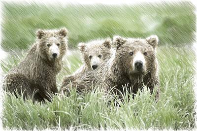 3 Little Bears Original by Frankie