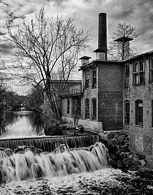 Art Print featuring the photograph Little River Dam by Betty Denise