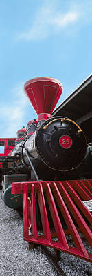 Locomotive At The Chattanooga Choo Art Print by Panoramic Images