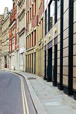 London Architecture Art Print by Tom Gowanlock